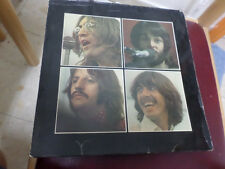 THE BEATLES Let It Be BOX ISRAEL ISRAELI LP RED APPLE, UK TRAY +Get Back BOOK