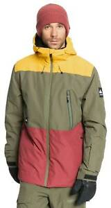 Quiksilver Sycamore Snow Jacket - Grape Leaf - New