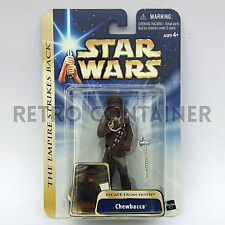 STAR WARS Kenner Hasbro Action Figure - SAGA GOLD - Chewbacca (Hoth Escape)