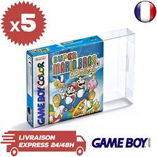 Link-e Lot de 10 Boîtiers de Protection pour Nintendo GameBoy Jeux