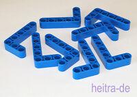 LEGO Technik - 8 x Liftarm 3x5 dick blau / Blue Liftarm 3x5 Thick  32526 NEUWARE