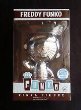 Funko CHROME Retro Freddy Funko Shop Exclusive Figure 2000pc Sold Out Ding Top