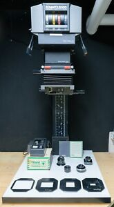 Durst Laborator 1200 Enlarger mit CLS 500, viel Zubehör, Lenses, Timer, Easel