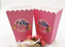 12 Pcs Set, my little pony Pop Corn Candy Boxes Kids Birthday Party Supply