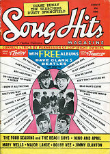 original USA 1964 Song Hits Magazine Vol. 28 No.7  Beatles Dave Clark Five etc.