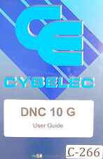 Cybelec SA DNC 10 G, User's Guide and Programming Manual 1997