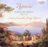 Amati Ensemble String Quartet - Paganini: Streichquartette 1-3 - CD