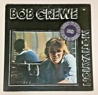 Bob Crewe (1977 Clean White Label Promo Vinyl LP Playtested 7E-1103) Motivation