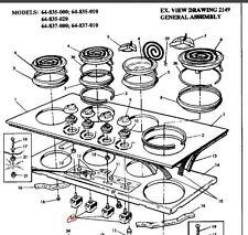 0534777597 GENUINE Hotplate/ Element control same as EGO EF50.56078.007