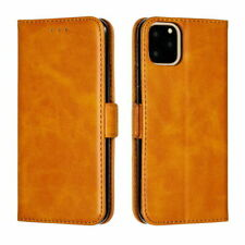 Genuine Leather Wallet Case Magnetic Flip Cover For iPhone 12 Pro Max Xs XR 7 8