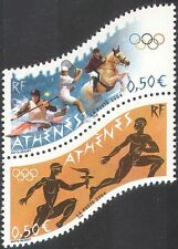 France 2004 Olympic Games/Sports/Olympics/Horse/Tennis/Canoe 2v set pr (n42513)