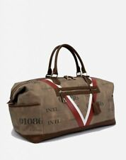 Valore London Piloti Canvas Leather Holdall bag made in italy berluti £750