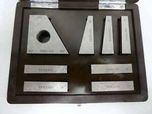 Hilger & Watts Combinations Angle Block set +-1sec  for Autocollimator , Laser