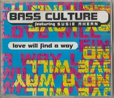 C.D.MUSIC D182 BASS CULTURE FEATURING SUSIE AHERN LOVE WILL FIND AWAY 4 TRACK SG