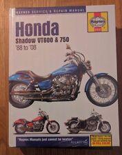 Honda Shadow VT600 & 750 (88 - 08) Haynes  Reparaturanleitung