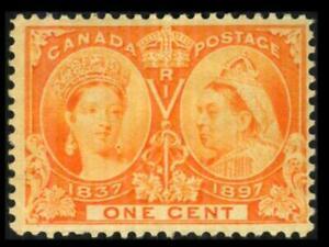 51 CANADA 1c Orange VICTORIA DIAMOND JUBILEE Mint Hinged $24 SEE PHOTOS J-545