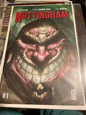 Nottingham #1 - Matt Dalton Variant - V for Vendetta Homage Nm Mad Cave High End