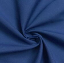 """Royal Blue Cotton Fabric 60"""" Width Sold By The Yard"""