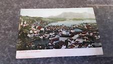 Luzern vom Gütsch gesehen AK Postkarte 7371
