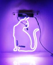 "New Cat Beer Bar Pub Wall Decor Acrylic Neon Light Sign 14"""