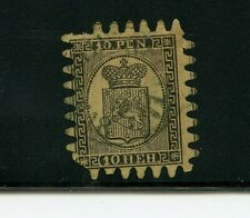 Finland #8 (Fi869) Coat of Arms Serpentine Roulette, Used, F, Cv$350.00