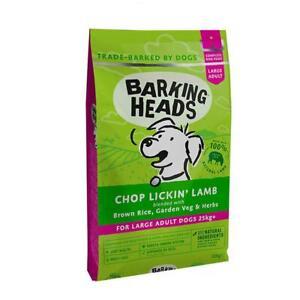 Barking Heads Adult Large Breed Dry Dog Food - Chop Lickin Lamb - 12kg