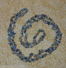 "Sodalite Chip Beads NEW Healing 36"" strand Make jewely Stone of Truth Logic"