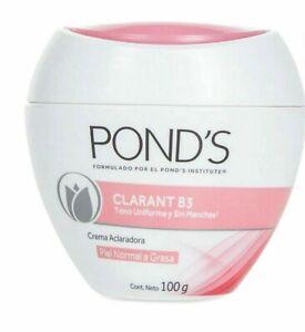 POND'S Cream CLARANT B3 clarify your skin 100g Normal to Oily Skin 3.5 oz