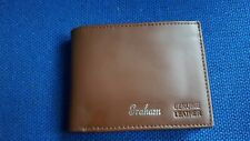 Graham leather wallet