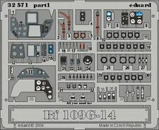 Eduard 32571 1/32 Aircraft- Bf109G14 Interior for Hasegawa (Painted)