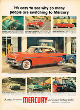 Vintage 1953 Magazine Ad Mercury Easy To See Why So Many Switching To Mercury