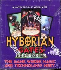 Hyborian Gates CCG Starter Deck Display MINT OOP