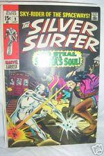 Silver Surfer #9 Vs Mephisto F/Vf 1969