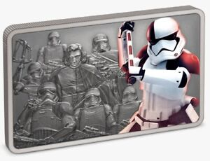 Star Wars: Guards of the Empire - Executioner Trooper™ 1oz Silver Coin