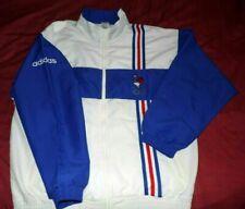 Veste(No Maillot)Adidas Officielle Equipe De France Olympique Vintage Taille L
