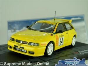 SEAT IBIZA GTI MODEL CAR 1999 RALLY MONTE CARLO GARDEMEISTER 1:43 SCALE IXO K8
