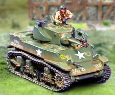 THE COLLECTORS SHOWCASE WW2 AMERICAN CBA052 3RD ARMORED DIV. M5A1 TANK SET MIB