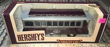 "ERTL TROLLEY CAR BANK ""HERSHEY'S"" 1994 1/43 SCALE. NEW IN BOX HERSHEY 100th FUN"