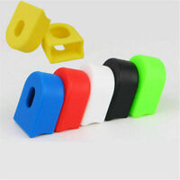 1 / 2 Pairs Bike Crank Arm End Crank Set Caps Silicone for Road MTB Bike Bicycle