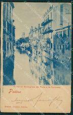 Padova Città Canale del Bacchiglione cartolina VK1138