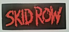 "Skid Row~Heavy Metal~Decal Sticker Adhesive Vinyl~3 1/4"" x 1 7/8""~Ships Free"
