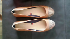 tommy hifiger brown shoes ballerinas pumps size UK5