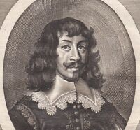 Portrait XVIIIe Johann Maximilian Graf Von Lamberg  Ioannes Maximilianus XVIIIe