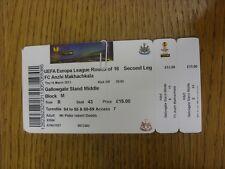 14/03/2013 Ticket: Newcastle United v Anzhi Makhachkala [Europa League] (Folded)
