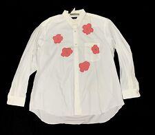 COMME des GARCONS HOMME PLUS Appliqué Flower Shirt
