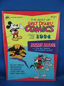 BEST OF WALT DISNEY COMICS 1934 Mickey Mouse 1974