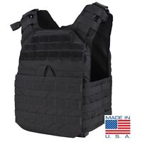 Condor US1020 Black Tactical MOLLE PALS Lightweight SAPI Cyclone Plate Carrier