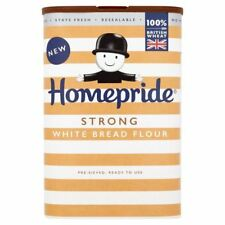 Homepride Strong White Bread Flour - 1kg (2.2lbs)