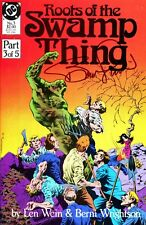 Roots Of The Swamp Thing #3 Signed By Artist Berni Wrightson