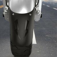 Details about  Universal Motorcycle Mudguard Dirt Front Fender Extender Black